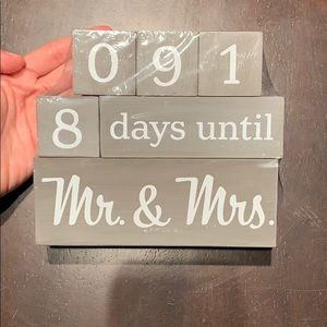 Wedding blocks NEW!